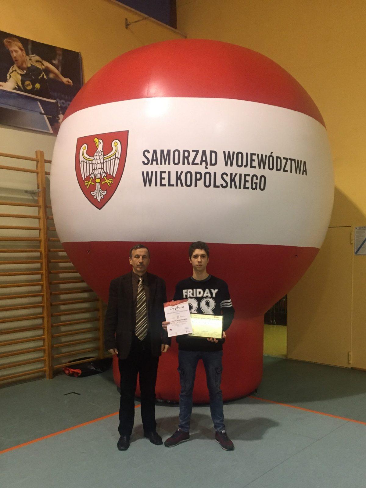 Zawody Wojewódzkie - tenis stołowy