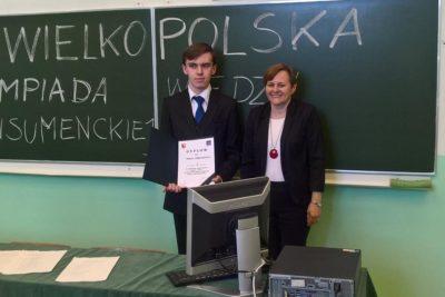 Tomasz Robaszewski laureatem konkursu wiedzy konsumenckiej
