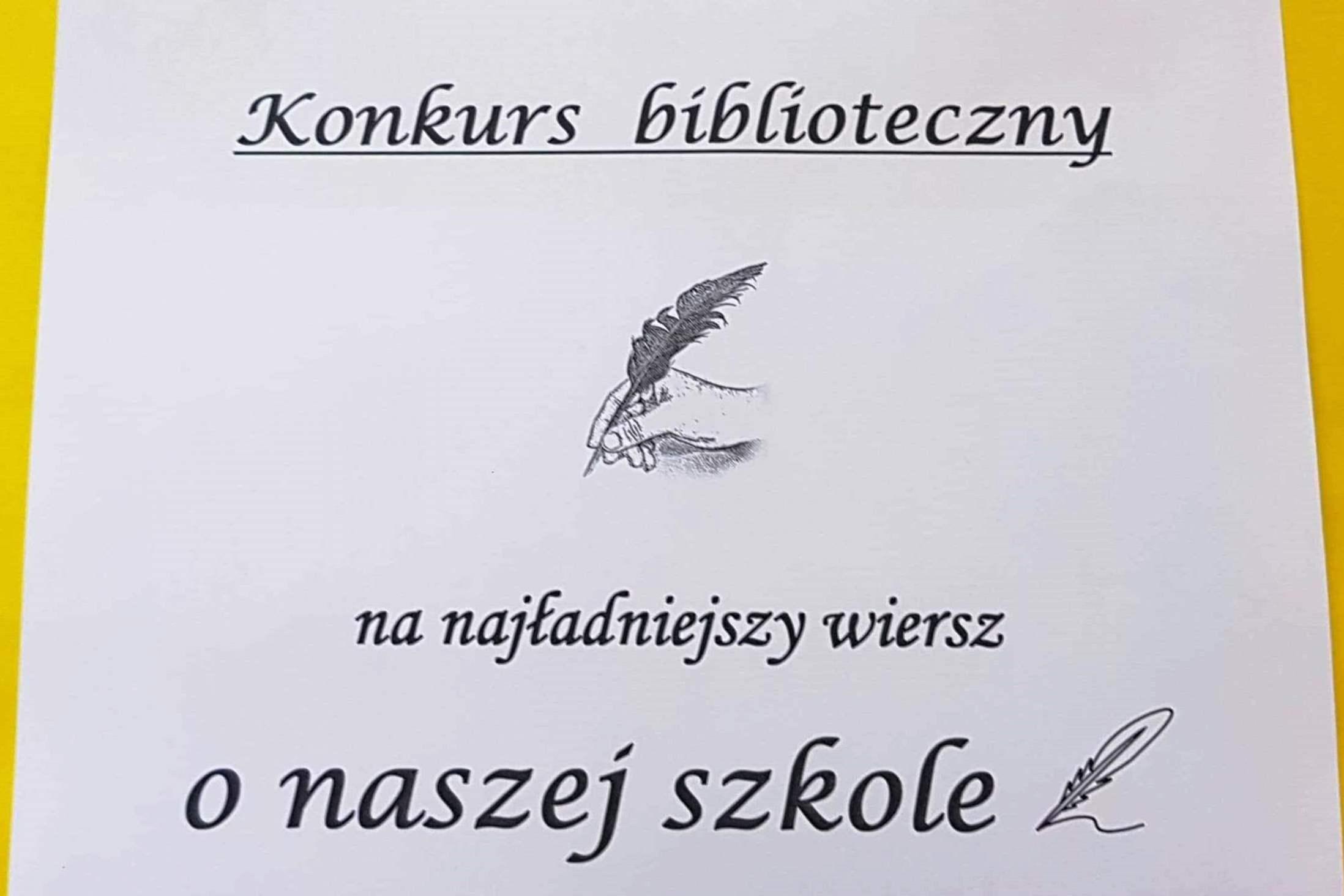 Wiersz O Szkole Zespół Szkół Elektroniczno